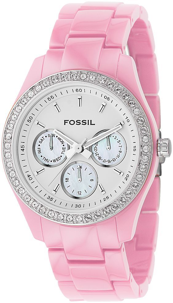 Baby pink fossil