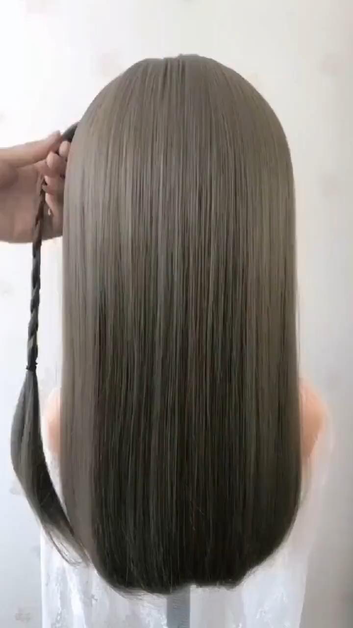 AMAZING BRAIDED HAIR TUTORIAL