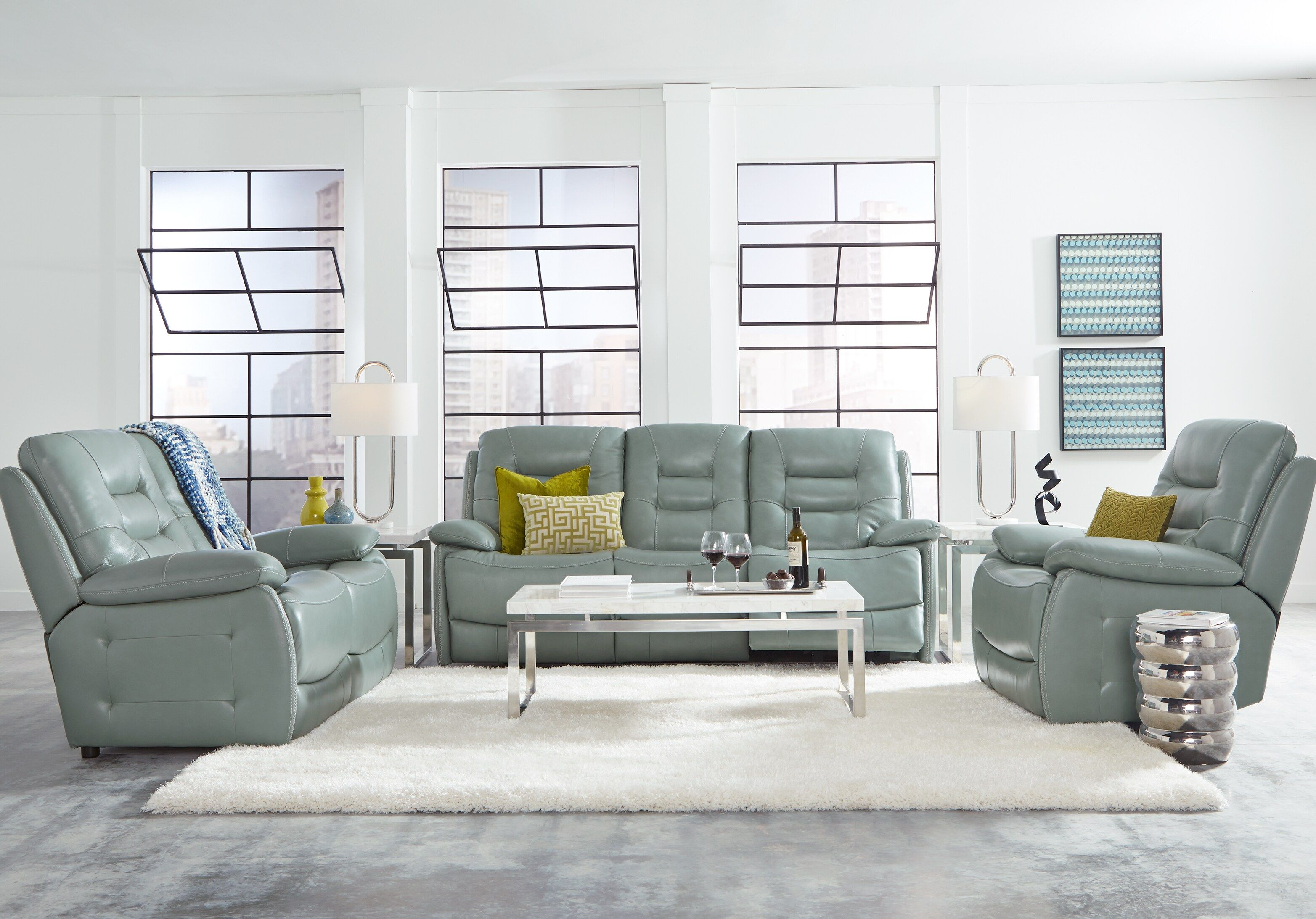 31++ Leather living room sets at rooms to go info
