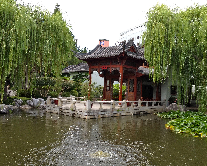 Peace Boat Pavilion Chinese Friendship Garden Sydney Kiến Truc