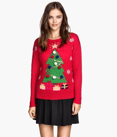 Lelijke Kersttrui.Lelijke Kersttrui Ugly Christmas Sweater Van H M Ugly Christmas