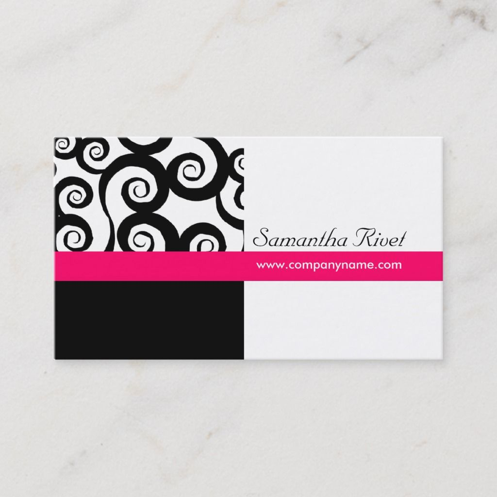 Funky Swirl Business Cards Zazzle Com Business Cards Retro Cool Cards Cards
