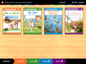 Penguin Leveled Readers IPad Bookshelf Reader Is A Wonderful App For Young Students Can Listen To Narration