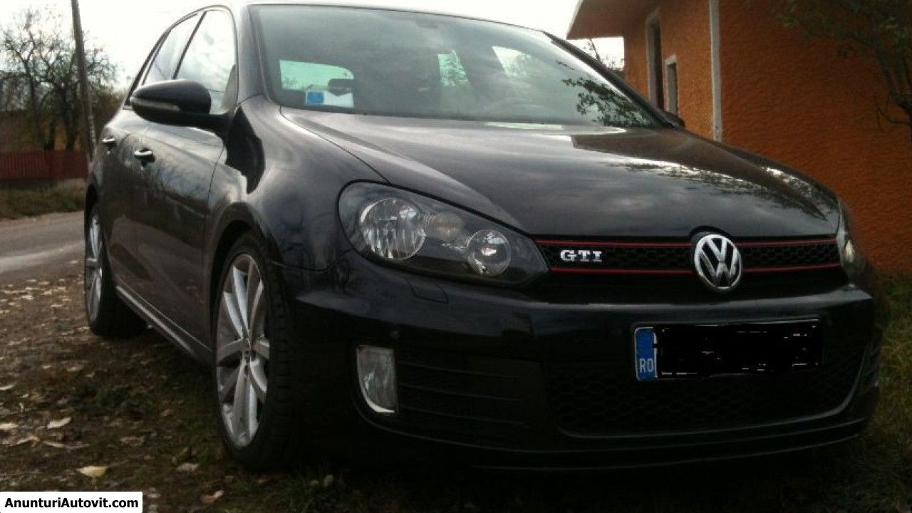 Proprietar, vand Volkswagen  Golf GTI   (Second hand); Benzina; Euro 5 -   inmatriculata pe Romania - martie 2010 - Alexandria, Telefon 0771395251, Pret 12500 EUR