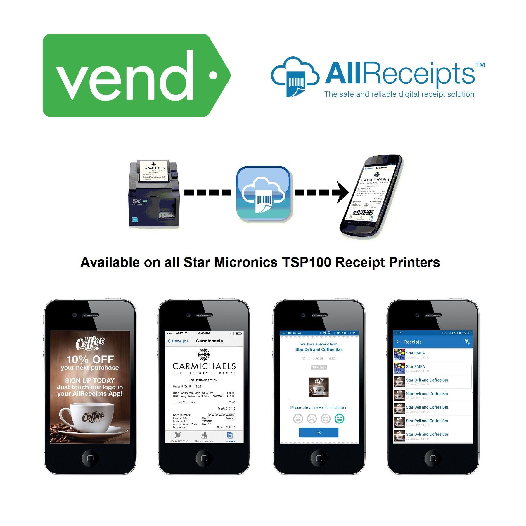 Vend Pos Hardware Bundle 15 Digital Printing Services Pos Device Management
