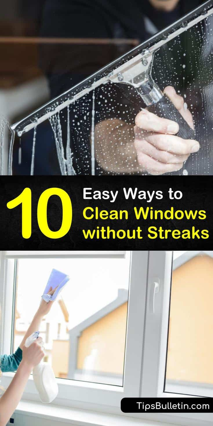 how to clean mirrors without getting streaks
