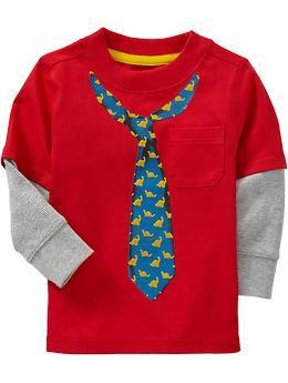 feda9b669 Dinosaur-Necktie Graphic Tees