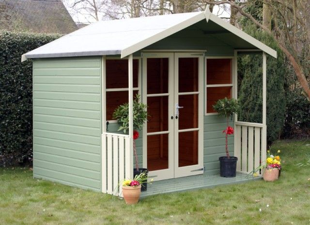 Image Result For Painted Summer House Images