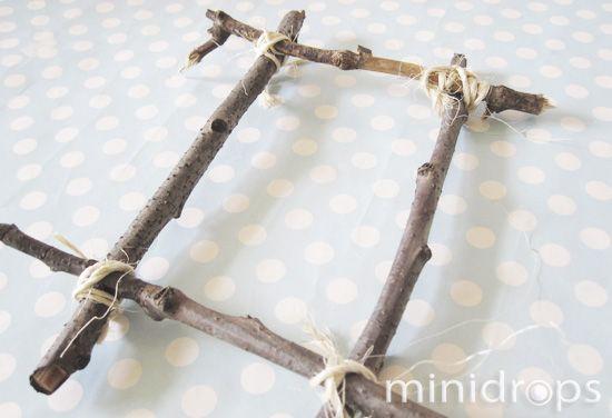 Holz-Bilderrahmen • Minidrops