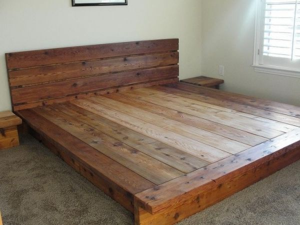 Image Result For Cedar Bed Platform Bed Designs Wood Platform