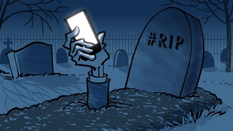 digital afterlife digital death