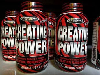 Creatina de Monohidrato de Fireforce Nutrition. La puedes conseguir en www.demusculos.com