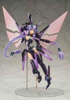 Hyperdimension Neptunia Action Figure Model Toys Purple Heart Kids Gift