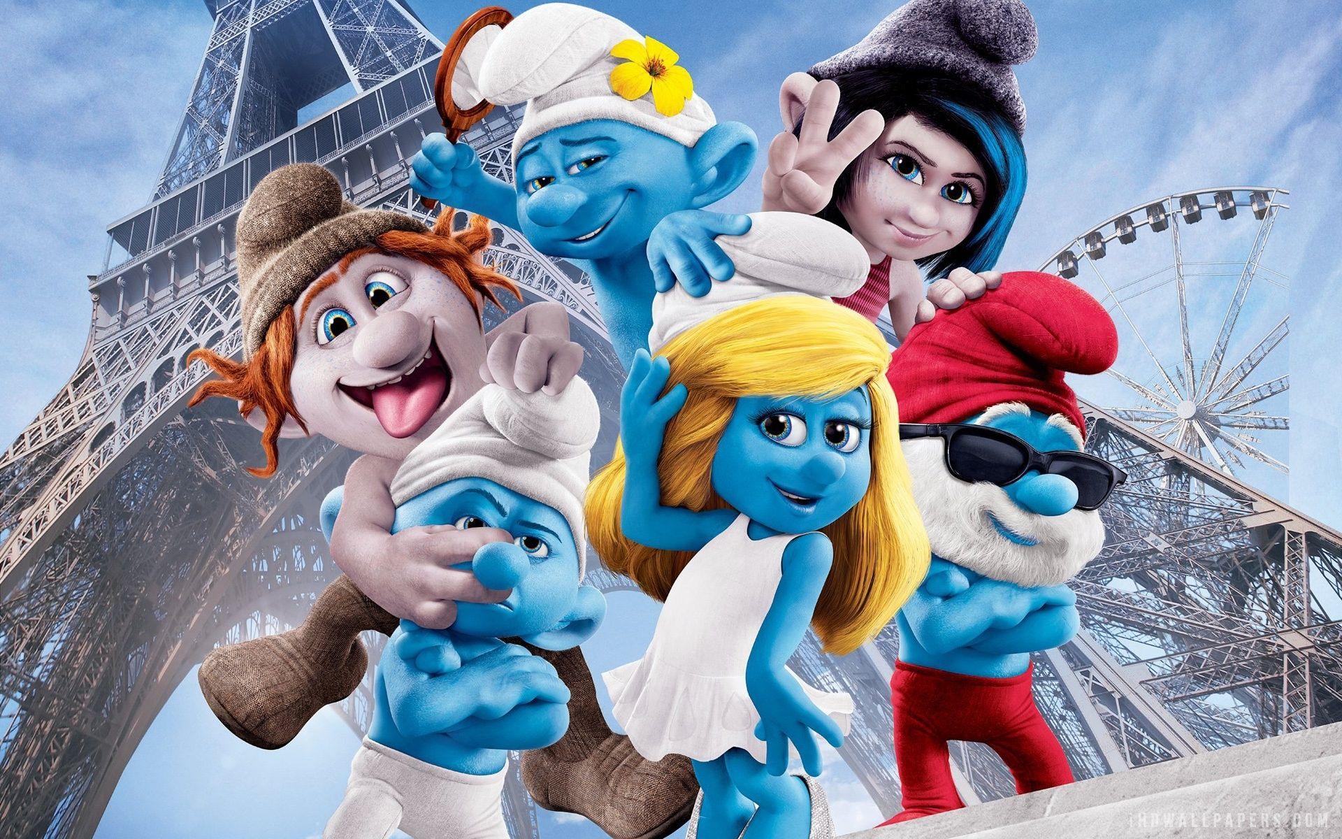 Personagens Os Smurfs 2 wallpaper em 2020 Cartoon