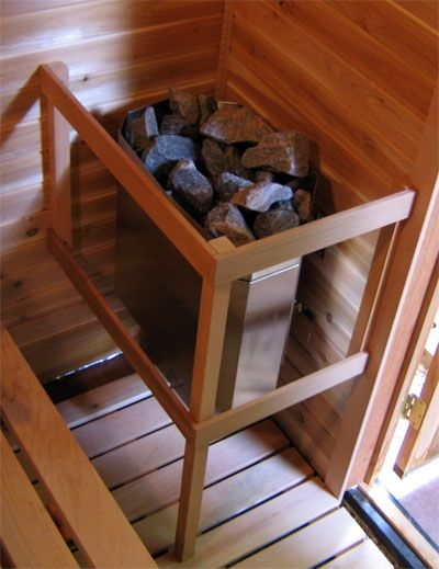 how to build a dry sauna