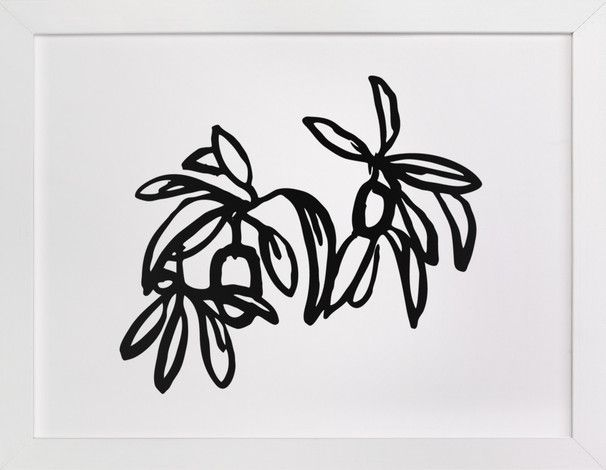 Inked Kumquat- Long by Katie Jarman at minted.com