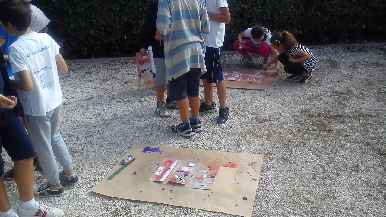 Percorsi di ricerca per la IX Biennale d'arte del Bambino ... all'aria aperta!