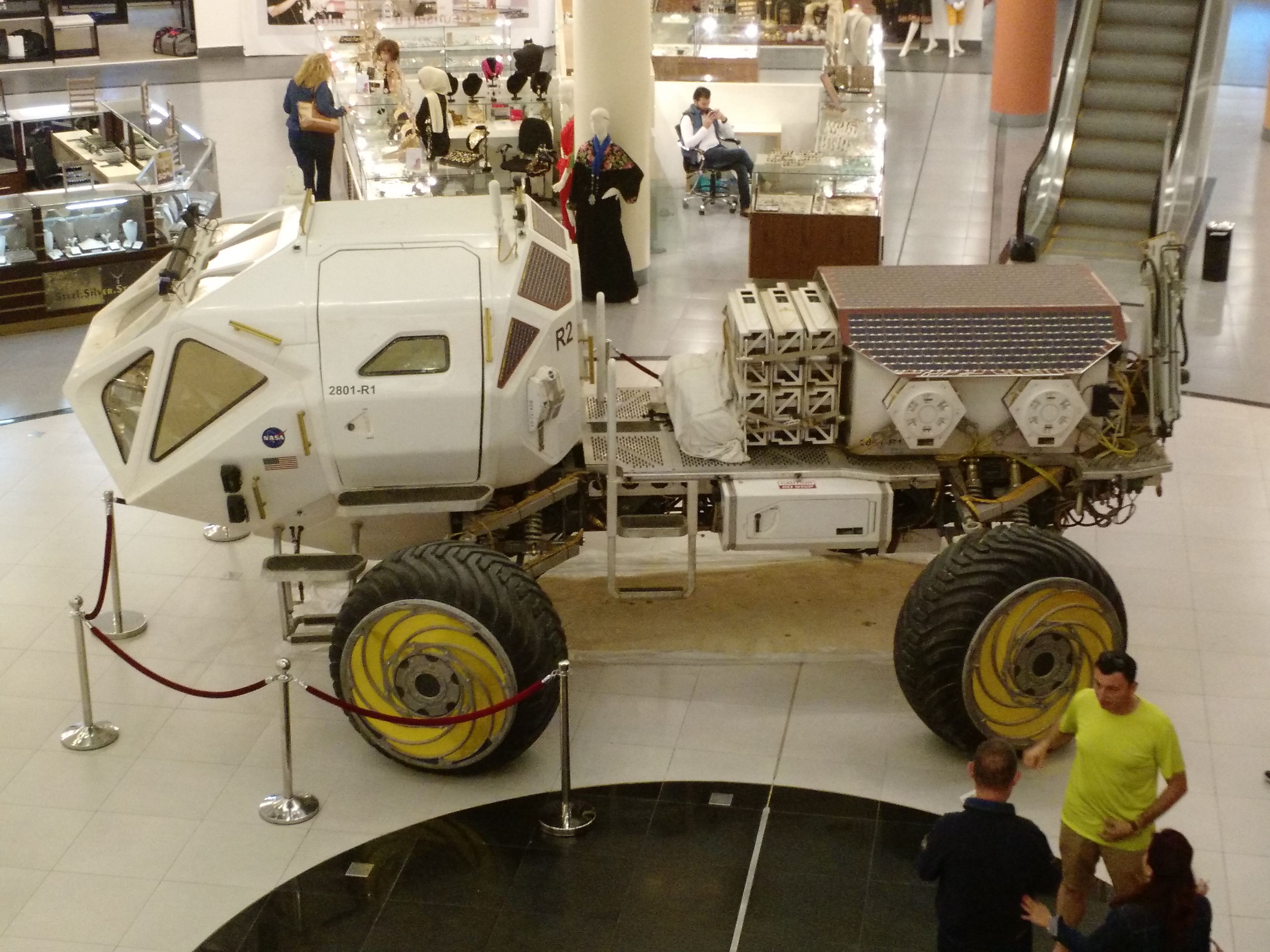 The Martian`s Mars Rover in Baraka Mall, Amman, Jordan - Album on Imgur