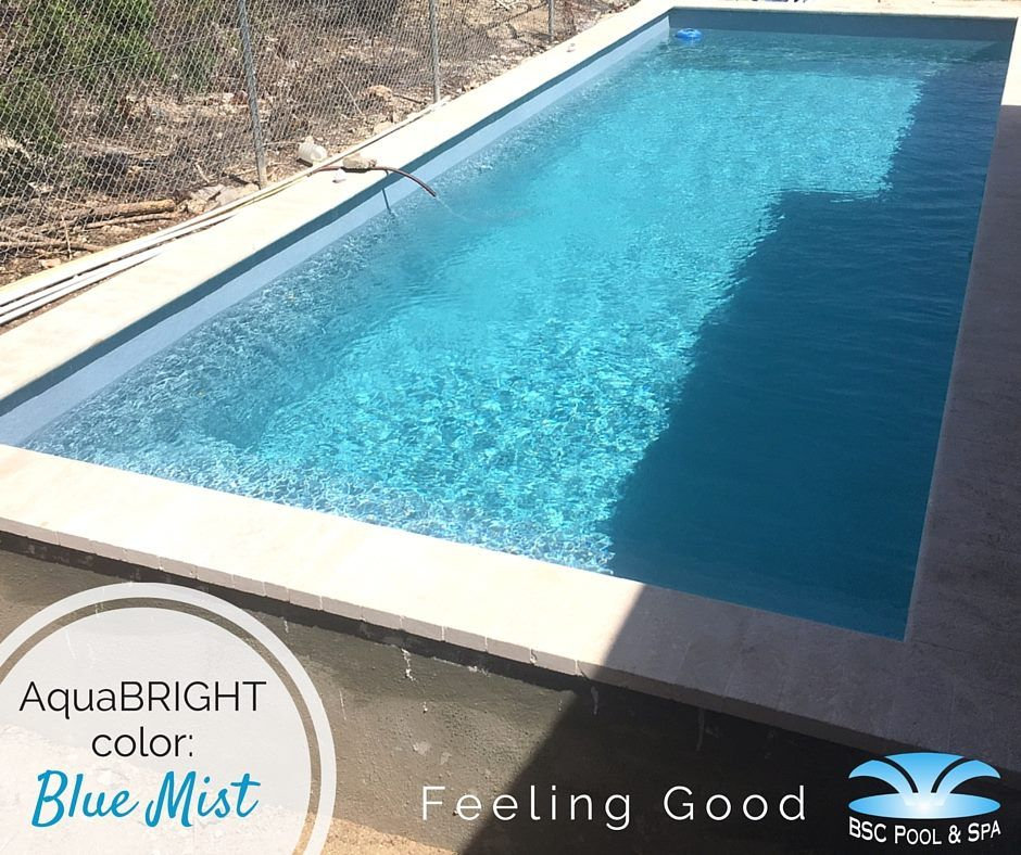 Blue Mist Ecofinish Aquabright By Bsc Pool Spa Bonaire With