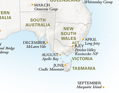 """Check out new work on my @Behance portfolio: """"Australian Geographic Panoramas Calendar 2014"""" http://on.be.net/1OudWhc"""