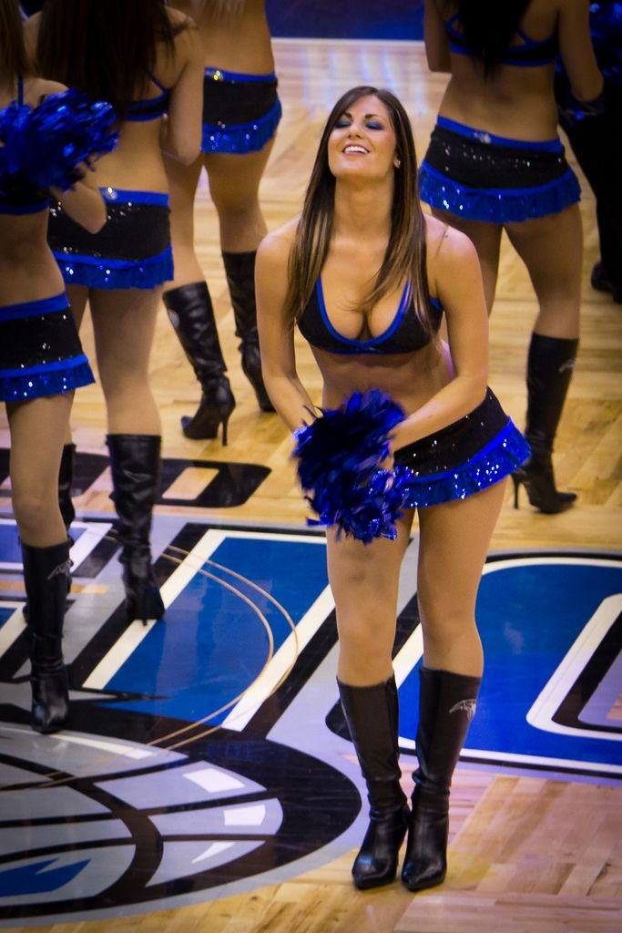 Orlando Magic Dancer NBA Cheerleaders Pinterest
