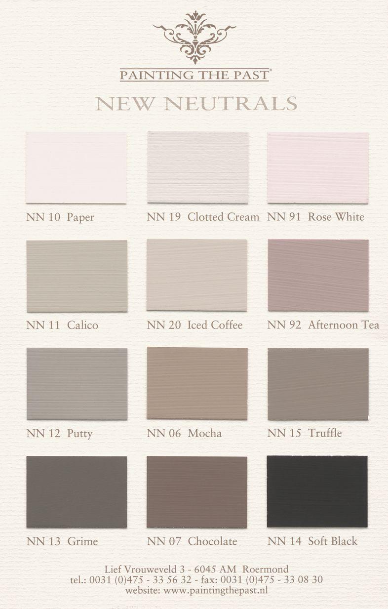 Spiksplinternieuw New Neutrals by Painting the Past | Bedroom paint colors, Bedroom BB-25