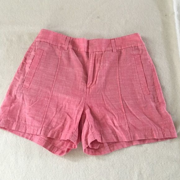 Madewell Chino Shorts Like New.  Light red Madewell for New Haven Supply Chino Shorts. Worn once. Madewell Shorts