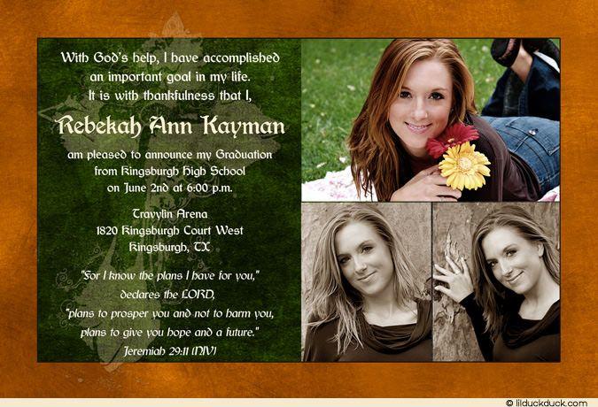 Graduation card announcements etamemibawa graduation card announcements filmwisefo Gallery