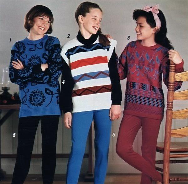 80s Fashion For Girls: 1980s Fashion For Women & Girls
