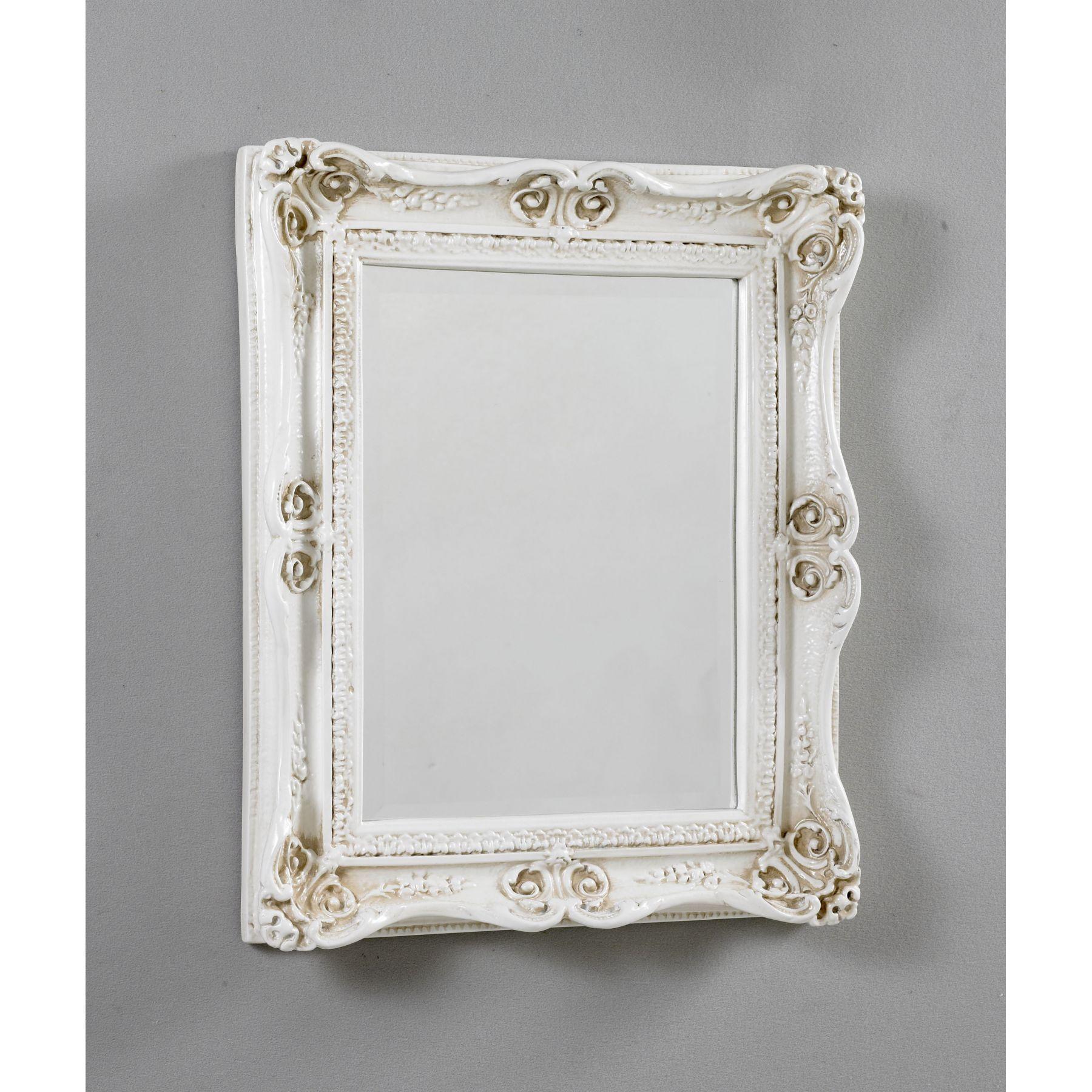 White Decorative Mirrors » White U0026 Ivory » Antique French Alluring Bathroom  Mirrors For Sale Design