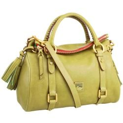 Cheap Dooney and Bourke - Florentine Small Satchel (Moss/Self Trim) - Bags and Luggage online - Zappos is proud to offer the Dooney