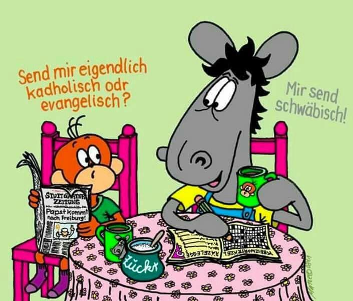 Pin Von Petra Smith Auf Schwaben Sagen Schwabische Spruche Lustige Comic Bilder Witzig