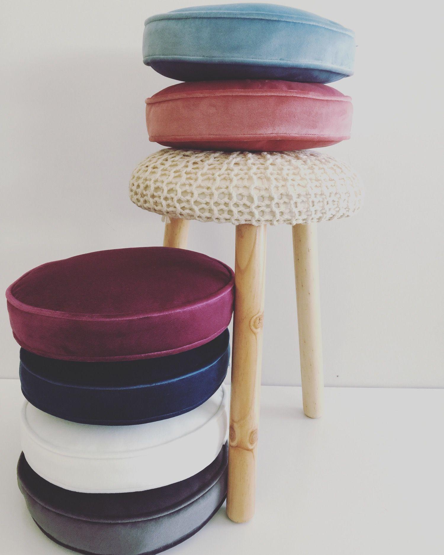 Image of Velvet Round Scatter Cushion (inc gst) 2016