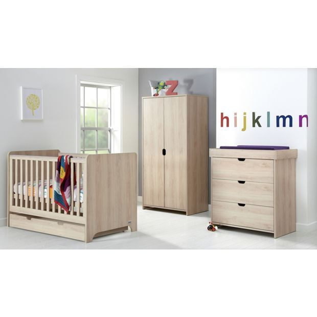 Buy Mamas Papas Rocco 4 Piece Nursery Furniture Set Light Oak At Argos Co Uk Your Online Shop Nursery Furniture Sets Baby Furniture Sets Nursery Furniture