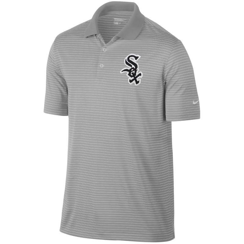 nike white sox golf shirt