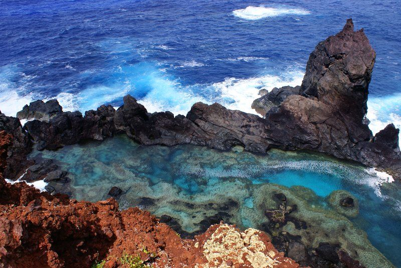 St Paul S Rock And Natural Pool Pitcarin Islands By Utrecht Natural Pool Henderson Island Pitcairn Islands