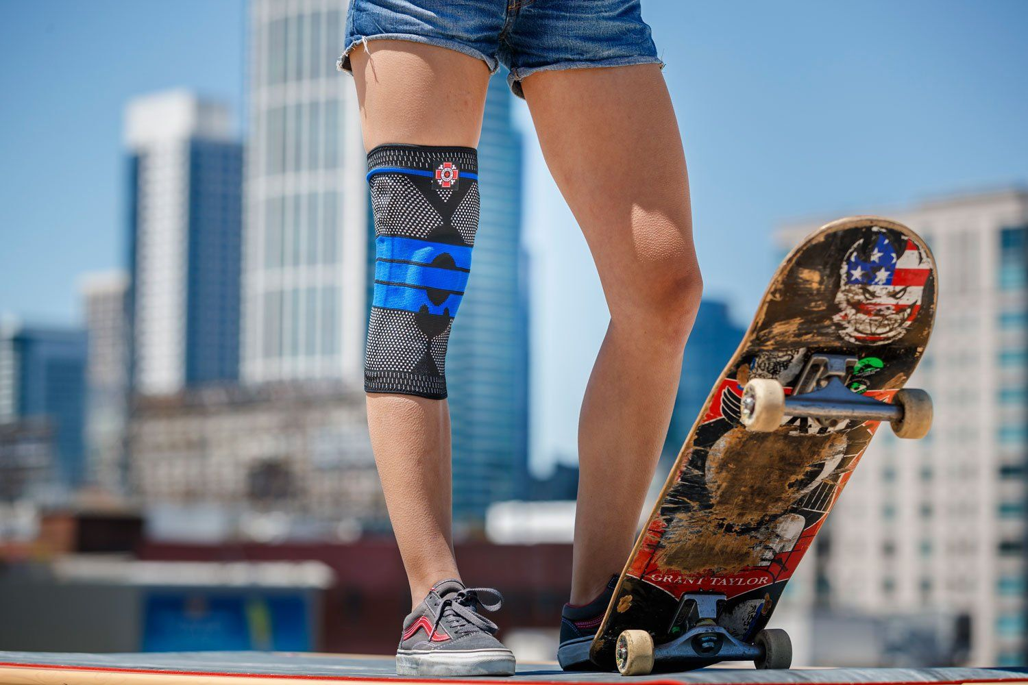 Heres why you should wear a knee sleeve before or after