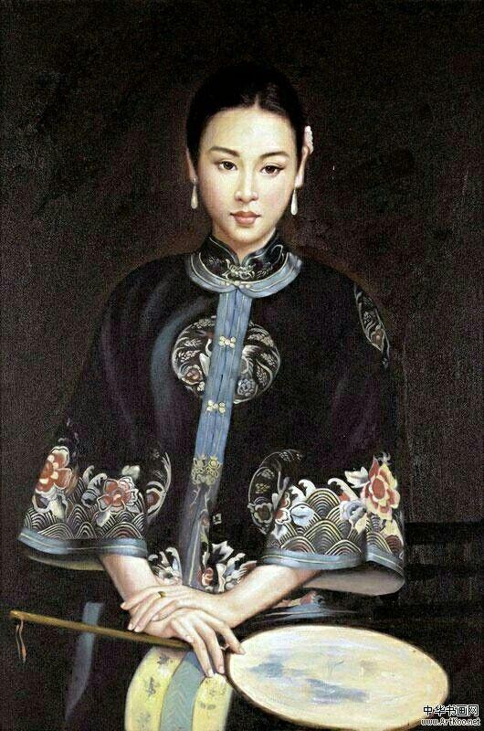 Chen Yifei ~ Chinese Romantic Realism painter   Tutt'Art@   Pittura * Scultura * Poesia * Musica  