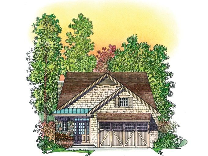 Eplans craftsman house plan a small country home with for Maison eplans