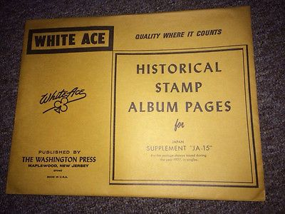 Stamp Albums for Sale | 912 Results for White Ace Stamp