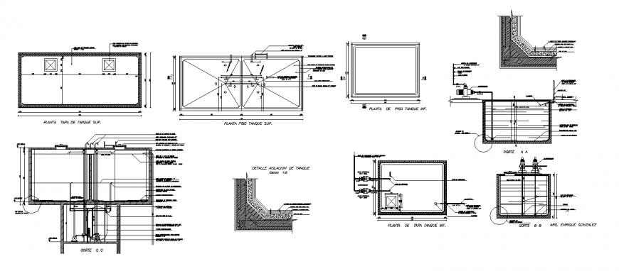 Water Tank Pumping Detail In Dwg File Water Tank Ceiling Design Bedroom Pump House