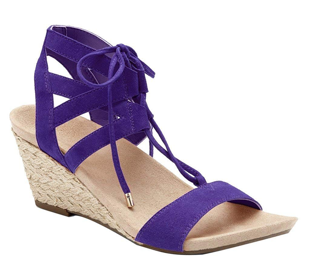 7a95d9f6e973 Vionic Women s Noble Tansy Purple Wedge -- Sincerely hope that you actually  do like the image. (This is an affiliate link)   womensplatformandwedgesandals