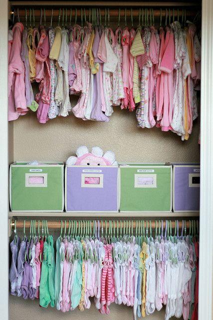 Idea For Briahnna U0026 McKenzeeu0027s Closet. McKenzeeu0027s Clothes Up Top,  Briahnnau0027s Below So She Photo