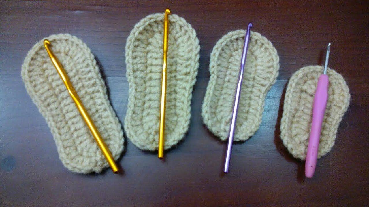ae3e1b930  لكلوك كروشيه للاطفال طريقة عمل قاعدة حذاء للبيبي Crochet Dalia & Ahmed -  YouTube