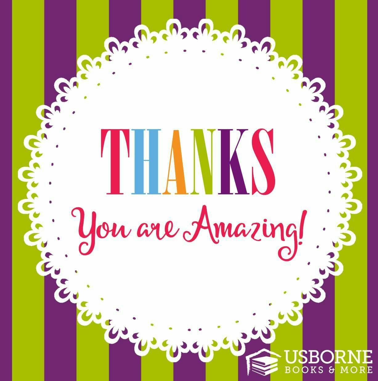 Thank You For Your Order Usborne Graphic Usborne Book Club Books