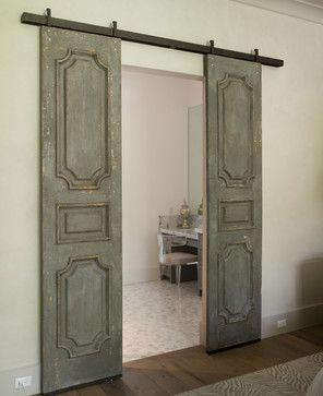 Wellesley 2 Transitional Bathroom Houston By Thompson Custom Homes Barn Door Designs Window Shutters Indoor Indoor Shutters