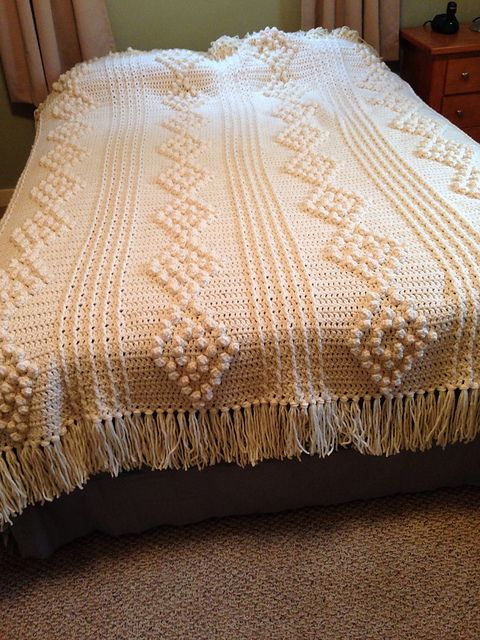 Ravelry: Project Gallery for Aran Crochet Afghan pattern by ...