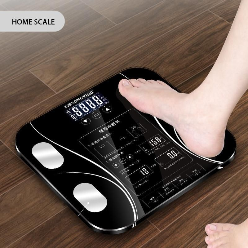 Bathroom Smart Weighing Scales In 2020 Weight Scale Weighing Scale Bathroom Weighing Scales