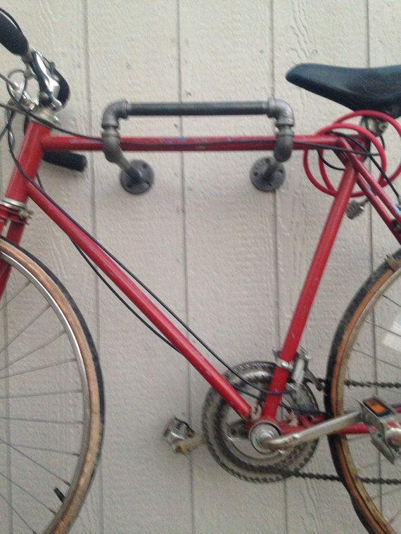 40 1 Industrial Bicycle Rack By Homedecorandsuch On Etsy Bike Rack Wall Bicycle Rack Bicycle Storage