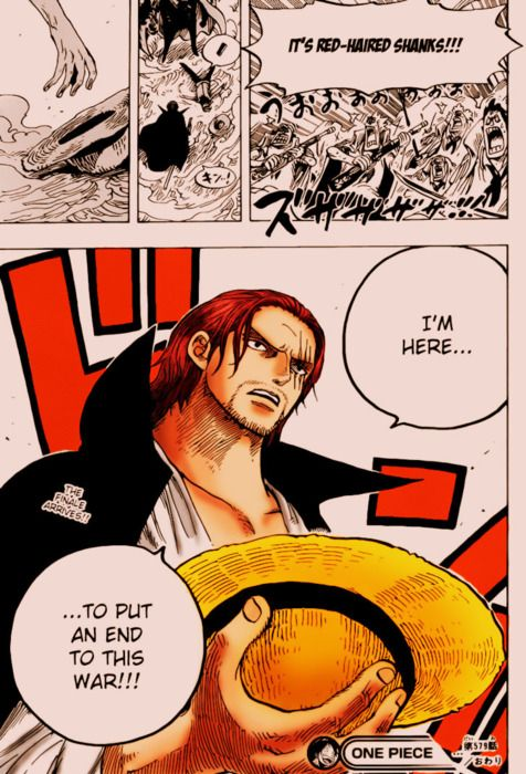 Shanks ends the War | Marineford | One Piece | One Piece | One piece